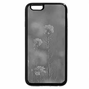 iPhone 6S Plus Case, iPhone 6 Plus Case (Black & White) - Bird in yellow flowers