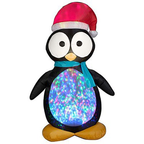 Gemmy Industries 87752 Kaleidoscope Penguin from Gemmy