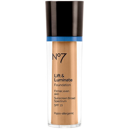 Boots No7 Lift & Luminate SPF15 Foundation, Cool Beige, 1oz - 7 Lift And Luminate