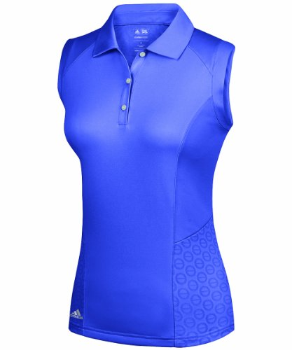 adidas Golf Women's climacool Formotion Sleeveless Polo - violet - X-Large