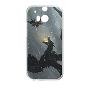 Warrior Battle With Monster Bestselling Hot Seller High Quality Case Cove Hard Case For HTC M8