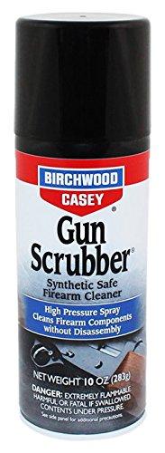 (Birchwood Casey Gun Scrubber Synthetic Safe Cleaner, Aerosol Spray, 10)