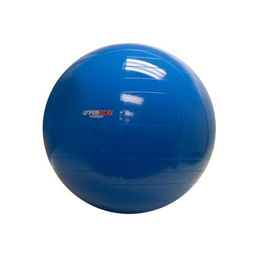PhysioGymnic Molded Vinyl Inflatable Ball, Blue, 34 Inch by PhysioGymnic