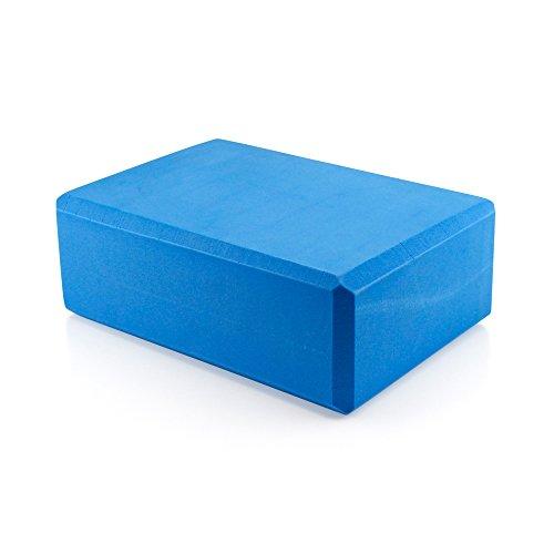 Pilates EVA Yoga Foam Block Brick Sports Exercise Fitness Gym Workout Stretching Aid (Blue)