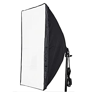 "Neewer 16""x16""/40cmx40cm Photography Photo Video Studio Wired Softbox Flash Light Lighting Diffuser with E27 Socket for Fluorescent Bulb Lamp"
