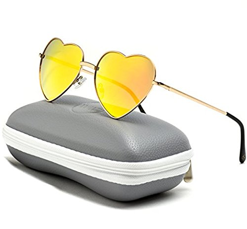 Women-Metal-Heart-Frame-Mirror-Lens-Cupid-Heartshape-Sunglasses