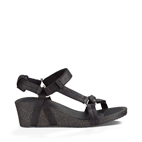 Teva Women's W Ysidro Universal Wedge Sandal, Black, 8 M US by Teva (Image #6)
