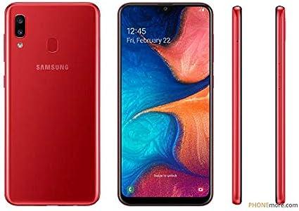 Samsung Galaxy A20 Dual SIM 32GB 3GB RAM SM-A205F/DS Red: Amazon ...
