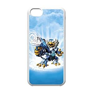 iPhone 5C Teléfono Funda Caso de la cubierta blanca de la historieta P6A3SJ teléfono celular Funda Cubierta Fabricantes de casos