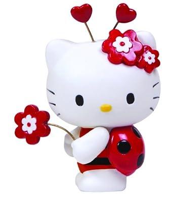 Hello Kitty Ladybug Figurine
