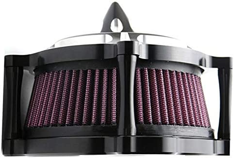 Vaorwne Motorcycle Air Filters Turbine Air Cleaner Intake Filter For Sportster Xl883 Xl1200 1991-2011 2012 2013 2014 2015 2016