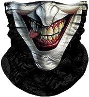 JOEYOUNG Face Mask Bandana, 3D Neck Gaiter, Motorcycle Headwear, Magic Scarf, Balaclava, Rave Mask, Tube Mask,