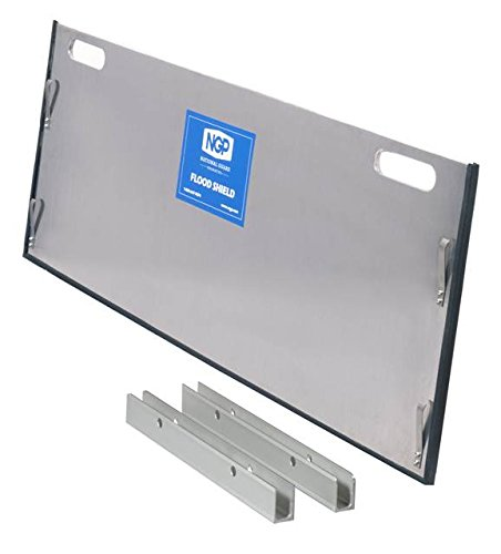 National Guard FS10 36 Inchesside Flood Barrier Shield , 10'' Height, Not Applicable by National Guard