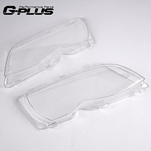 G-PLUS for BMW E46 4Door 320i 325i 325xi 330i 330xi 02-05 Left & Right Side Headlight Lense Cover
