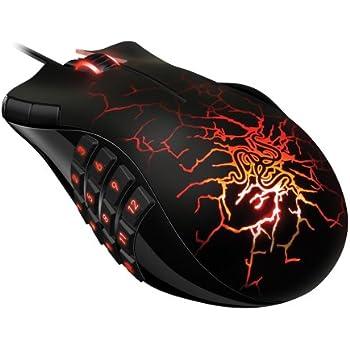 Razer Naga Molten MMO PC Gaming Mouse