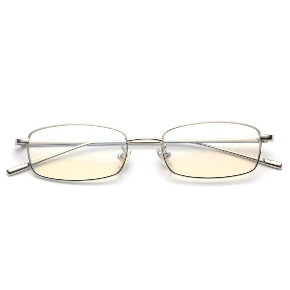 Rectangle Eyeglasses Optical Men Metal Small Frame Glasses Frame Women Unisex