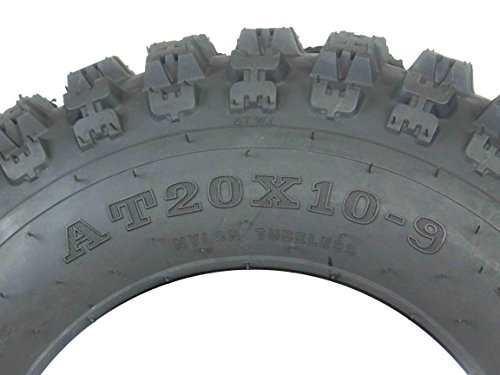 New MASSFX ATV Sport Quad Tires 21X7-10 20X10-9 6 Ply Dual Compound Front Rear For Yamaha Raptor Banshee Honda 400ex 450r 660 700 400 450 350 250 (Four Pack two Front 21x7-10 and Two Rear20x10-9 6) by MassFx (Image #7)
