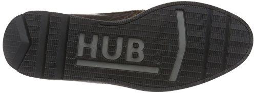 Hub Aston L80 Herren Chukka Boots Braun (Dark Brown/Black 131)
