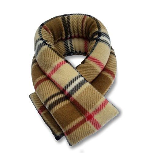Sunny Bay Extra Long Heated Neck Wrap (london plaid camel)