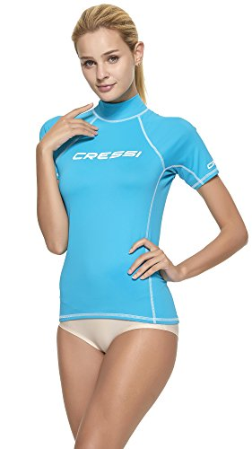 Protection Cressi Bleu Haute Solaire De Femme aquamarine Guard upf Uv 50 Rash Combinaison ZEqZPwcr