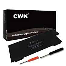 "CWK™ New Replacement Laptop Notebook Battery for A1245 Apple MacBook Air 13"" A1237 A1304 MB003 MC233 Z0FS Apple A1245 MacBook Air 13"" Series ( Early 2008 Late 2008 Mid 2009) A1304 A1245 37Wh"