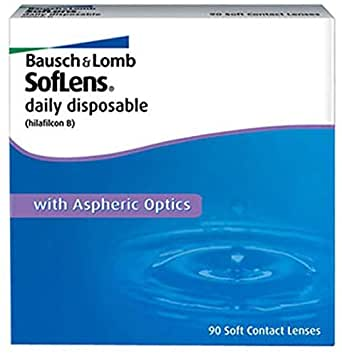 Bausch & LombSoflens Daily RX 90 Pack Contact Lenses Power, -9.00