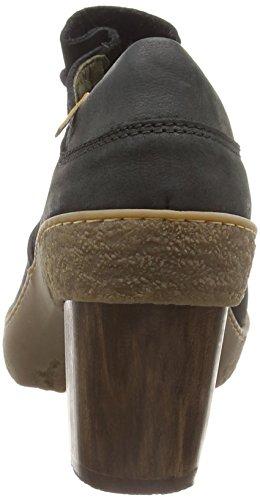 black El Scarpe Pleasant Oxford Naturalista Stringate Nero Lichen Nf70 Basse Donna ZZP4vOq
