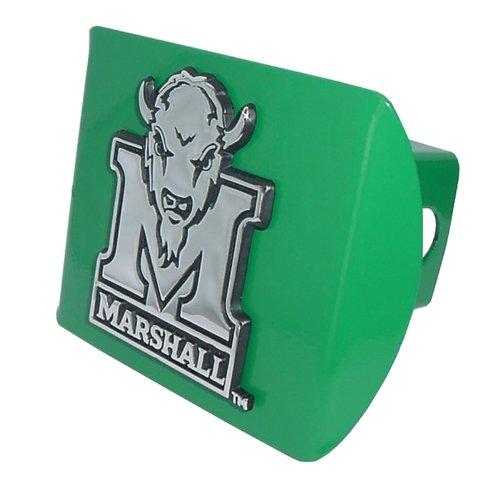 Marshall Thundering Herd Green Chrome Buffalo Emblem NCAA Me