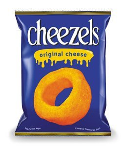 Cheezels Original Cheese Snack 2.11 oz (60 g.)