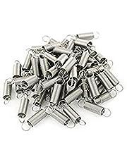 100 Pcs Metal Internal Pipe Bending Spring 0.5 x 6 x 26mm