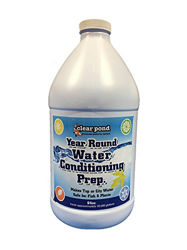 64 Oz Pond Water - Clear Pond Year Round Water Conditioning Prep - 64-Ounce