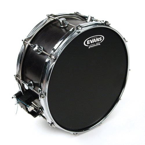 Evans Hydraulic Black Drum Head, 14 - Pop Drum Head