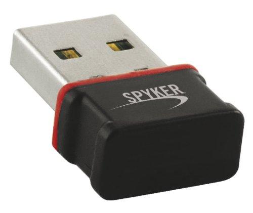 Spyker 5513003 Adaptateur USB Wifi 11N 150Mbps Noir Accessoires PC