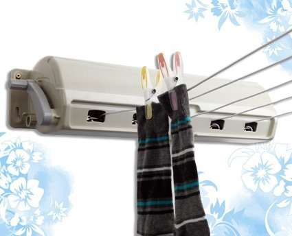 Amazon.com: HEAVY DUTY 5 LINE RETACTABLE WASHING LINE By The Home Laundry  Company: Paintings