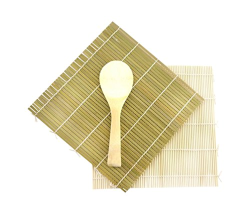 Green Yellow Bamboo Rolling Paddle