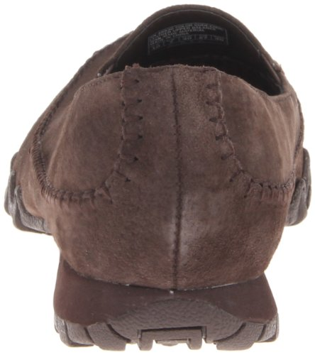 a basso Marrone collo Pedestrian Donna Scarpe Skechers Marrone Choc Bikers qw1RaRB