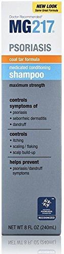 MG217 Medicated Conditioning Coal Tar Formula Shampoo 8 oz (Pack of 3)