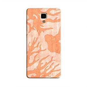 Cover It Up - Pink Shades Nature Print Mi4 Hard Case