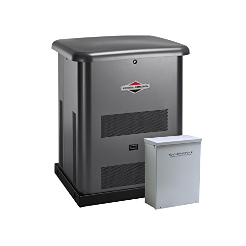Briggs & Stratton 40445 8000-watt Home Standby Generator System with 50-Amp Automatic Transfer (Stratton Automatic Transfer Switches)