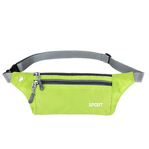 1b16522c2ae8 XDH-RTS Waterproof Fanny Pack Bum Bag Fashion Women Men Slim Waist Bag for  Travel Sports Waist Pack with Earphone Hole