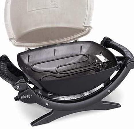 Weber Q1400 Dark Gray Elektrische grill, 2200 watt: Amazon.nl