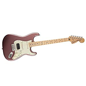 fender deluxe lone star stratocaster mn burgundy mist metallic musical instruments. Black Bedroom Furniture Sets. Home Design Ideas