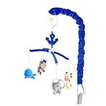 Baby's First by Nemcor Ahoy There Musical Mobile, Blue