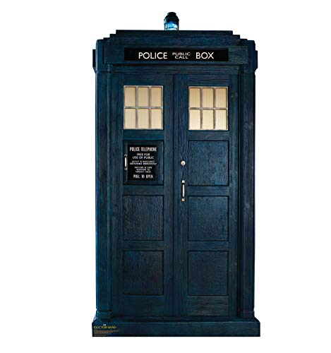 Advanced Graphics Tardis Life Size Cardboard Cutout Standup - Doctor Who: Series 11