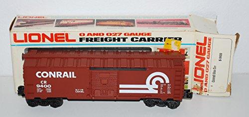Trains 6- CONRAIL Railroad Boxcar Tuscan brown 1978 MPC freight - Lionel 9400