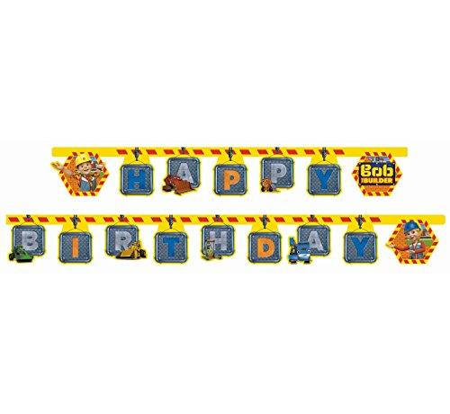 - Bob The Builder Happy Birthday Garland