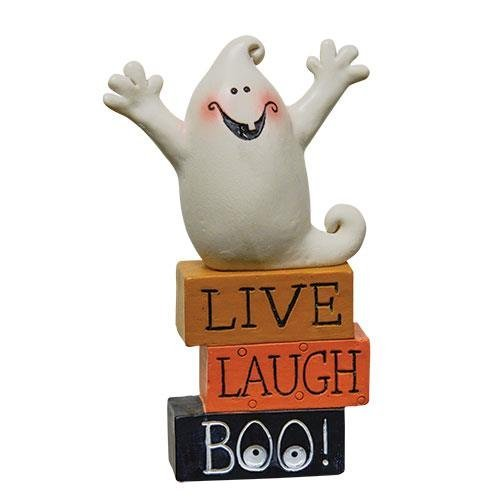 Heart of America Live Laugh Boo Ghost