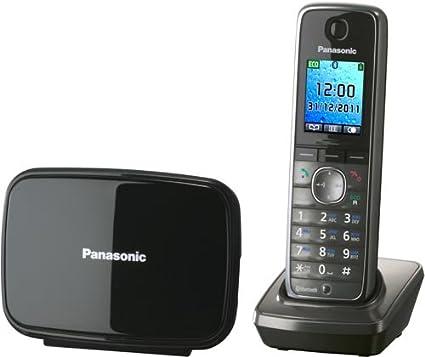 Panasonic KX-TG8611SPM - Teléfono inalámbrico digital: Amazon.es: Electrónica