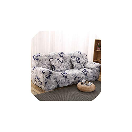 Sofa coverModern Elastic Stretch Sofa Covers for Living Room Sofa Couch Slipcovers 1/2/3/4 Seater Sectional Sofa Covers housse de canap,Color 7,2pcs Cushion Covers ()