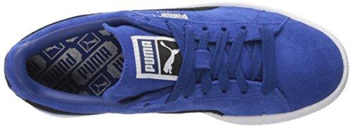 PUMA Adult Wildleder Klassischer Schuh True Blue-Puma Schwarz